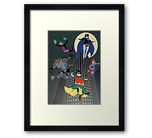 Teen Titans Framed Print