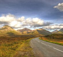The Cuillin Mountains of Skye by Chris Thaxter