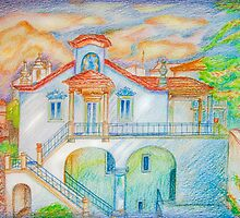iPad case.  iPhone. House III. Sintra by terezadelpilar~ art & architecture