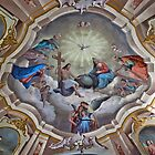 Sonogno painted ceiling by Michael Brewer
