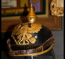 Newcastle Museum Series - German World War One Helmet by reflector
