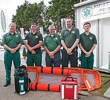 Paramedico: First Aid cover at Southampton Boat Show 2012 by Keith Larby