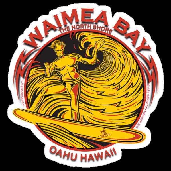 WAIMEA BAY by Larry Butterworth