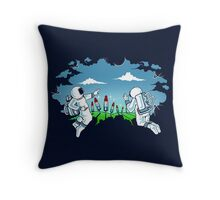 Unexpected Atmosphere Throw Pillow