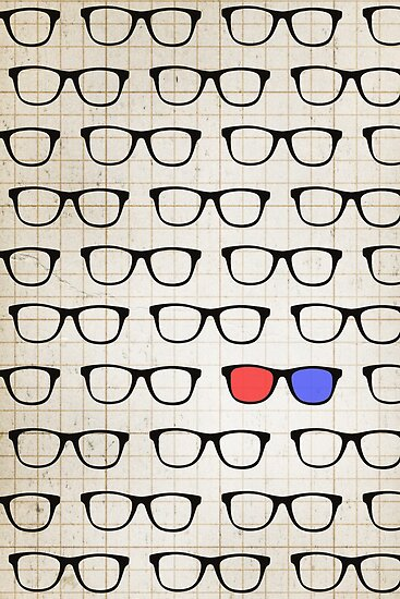 3D Hipster by Zeke Tucker