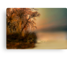 """ The Fog and What Awaits "" Canvas Print"