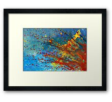 Abstract - Acrylic - Just another Monday Framed Print