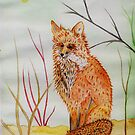 A Red Fox by Anne Gitto