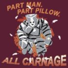 Pillow Man Carnage! by Steevin Love