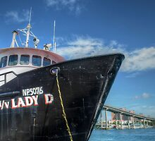 """""""Lady D"""" docked at Potter's Cay in Nassau, The Bahamas by 242Digital"""