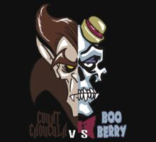 Count Chocula vs Boo Berry by monsterfink