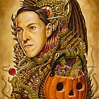 Costume of Cthulhu by Michael Pucciarelli