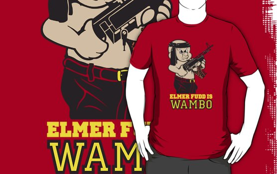 Elmer Fudd is Wambo Colour by monsterplanet