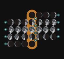 The Moon phases | Las fases de La Luna by tudi