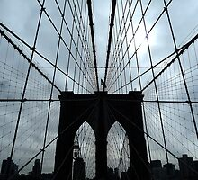 Brooklyn Bridge - NY by Federica Gentile