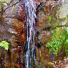 Waterfall 3 by Russell Voigt