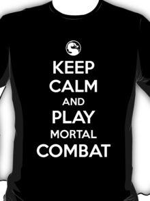 Keep Calm and Play Mortal Combat, T-Shirt