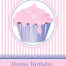 Strawberry Cream Cupcake birthday card No 6 of 6 by Moonlake