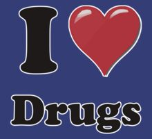 I Heart / Love Drugs by HighDesign