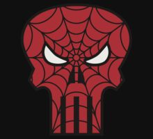 The Spider Punisher Man Logo by adamcampen