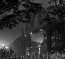 Yaquina Bay Bridge by Chappy