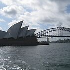 Harbour Bridge & Opera House by Finkie