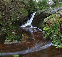 Highlands cascade .above Stony creek falls . by Donovan wilson
