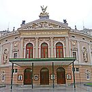 Opera House, Ljubljana by Graeme  Hyde