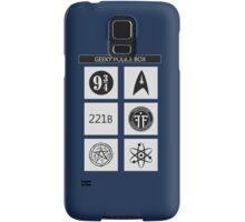GEEKY POLICE BOX Samsung Galaxy Case/Skin