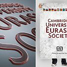 EA corporate identity.3. (Cambridge Univercity Eurasia Society) poster and picture by MariaMukha