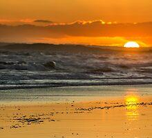 sunset at barwon heads beach by ketut suwitra