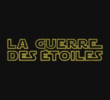 La Guerre des Etoiles (Star Wars classic logo in French) T-Shirt