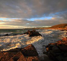 Evening Light over Woolacoome Bay by Paul Bettison
