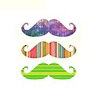 Of course mustaches:{{{ by Li9z