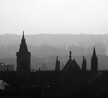 Northampton Rooftops by Veterisflamme