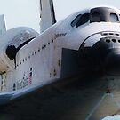 Endeavour Front View by Monte Roberts