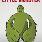 "Big Green Monster - ""Happy Birthday Little Monster"" by David Wildish"