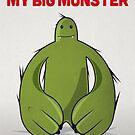 """Big Green Monster – """"Happy Birthday My Big Monster"""" by David Wildish"""