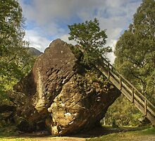 The Bowder Stone by Jamie  Green