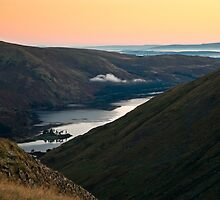 Haweswater Golden Sunrise by David Lewins