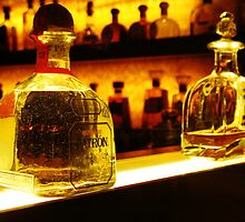 Bottle of Patron Tequila Reposado by RustedStudio
