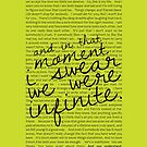 We Were Infinite - Quotes - Green by stephisinsanity