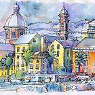 Pegli Borgo di Mare by Luca Massone  disegni