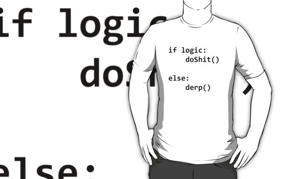 if logic, do shit, else derp python by Slench