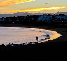 Lanzarote by sunset by Klickolina
