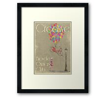 Creative Bicycle Owners Club Framed Print