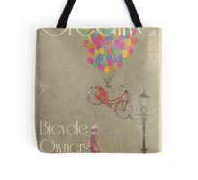 Creative Bicycle Owners Club Tote Bag