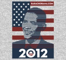Barack Obama 2012 by beone