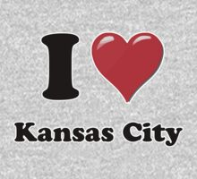 I Heart / Love Kansas City by HighDesign