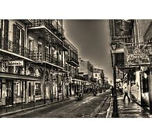 French Quarter Morning Photographic Print